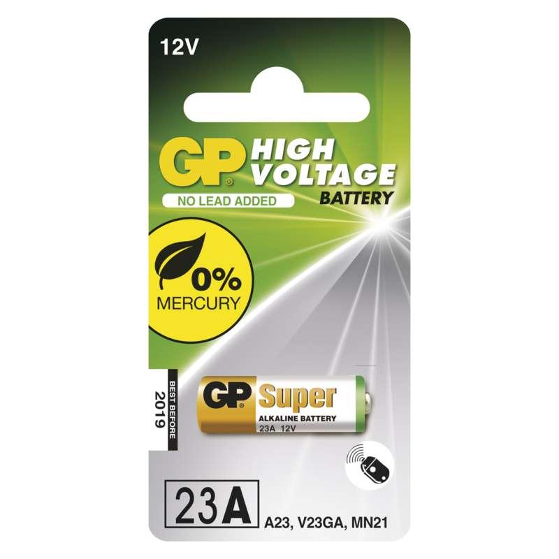 Alkalická speciální baterie GP 23AF (MN21, V23GA) 12 V, 1 ks